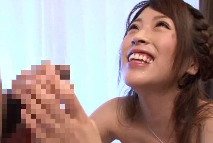 無修正AV流出「AV DEBUT あの国民的アイドルの妹 やまぐちりく」-005